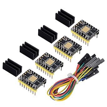 BIQU 3D Printer Parts TMC5160 V1.2 SPI controlador de motor paso a ...