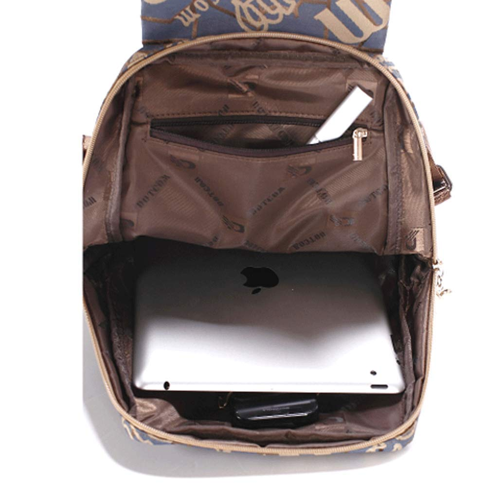 Damen Damen Damen Rucksack, Leder Rucksack Frauen Schultasche Casual Daypacks Für Outdoor Sports Tasche Schulranzen B07K5746TK Daypacks Qualität 6c4edb