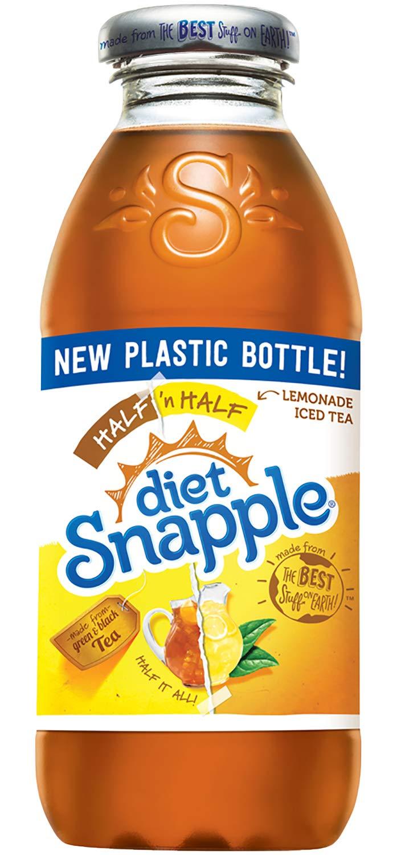 Diet Snapple Half 'n Half, 16 fl oz (24 Plastic Bottles) by Snapple (Image #1)
