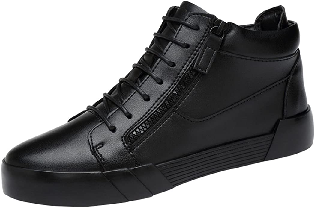 Add Wool Inside Leather British Sneaker