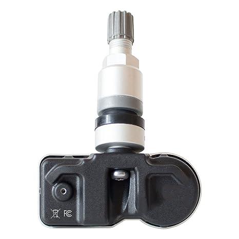 E749724 Tire Pressure Monitoring System Sensor DPAccessories 3SIRB-E749724//4 4x 315 Mhz TPMS Tire Pressure Sensors w//Black Rubber Snap-In Valve