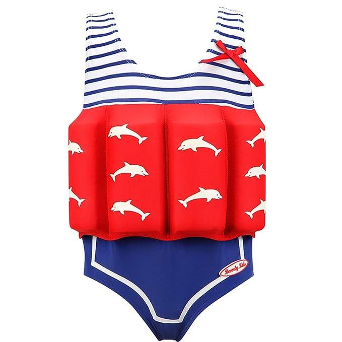 Niños Flotante Bañadores Traje de Baño - Bebé Flotador Nadar ...