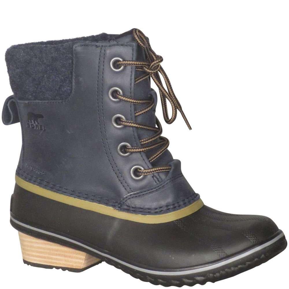 Sorel Slimpack II Lace Boot - Womens Collegiate Navy/Glare, 8.0