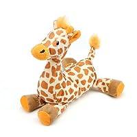 Pro Goleem Squeaky Dog Toy Indestructible Pet Toys Soft Plush for Puppy (Giraffe)