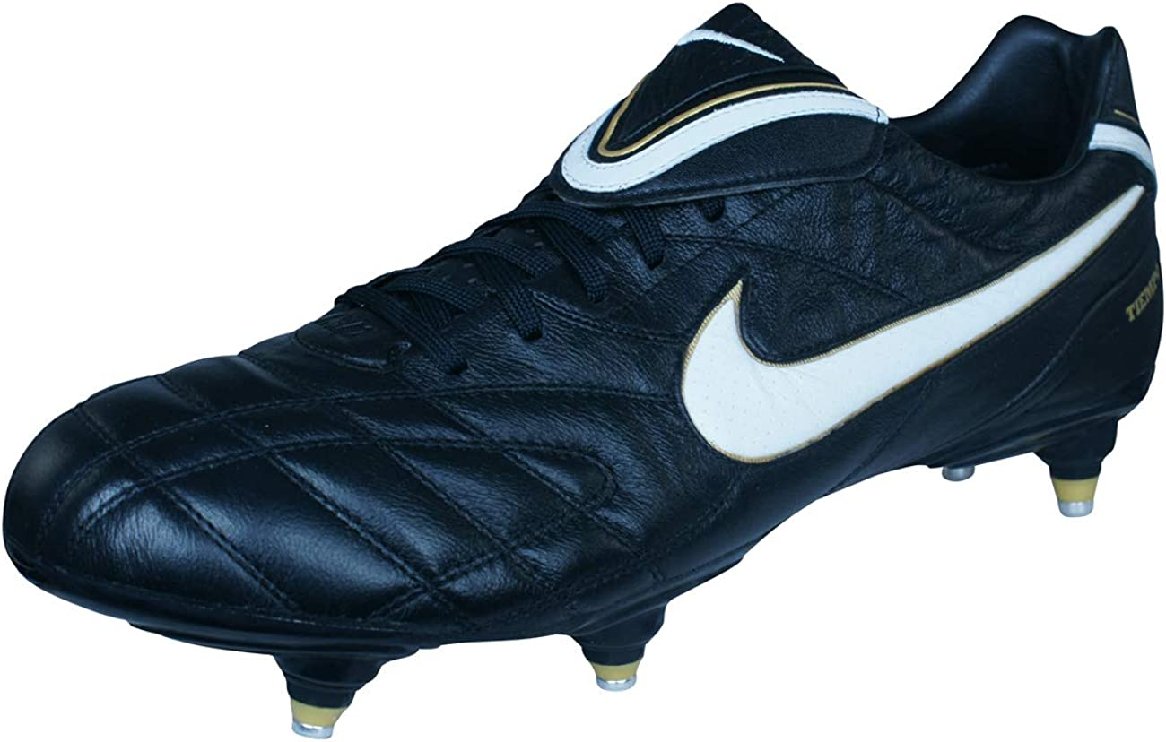 Observatorio Banquete En riesgo  Nike Tiempo Legend III Soft Ground Football Boots - 13 Black: Amazon.co.uk:  Shoes & Bags