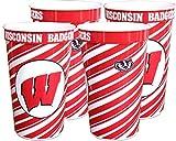 Wisconsin Badgers 22 oz Souvenir Cups - 4/pkg.