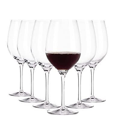 b9dca818f0d Buy Arcoroc Red Wine Glasses Set of 6 370 Ml Ø 65 Mm Up to 5 Times More  Resi Online at Low Prices in India - Amazon.in