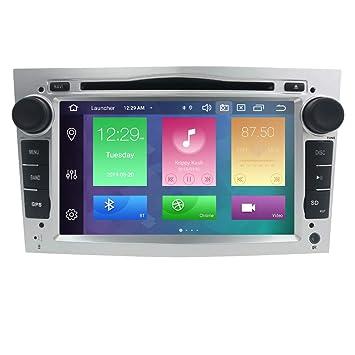 Radio estéreo para coche con doble sonido, Android 9.0 de 7 pulgadas, pantalla táctil en Dash, soporte de navegación GPS, WiFi, SWC OBD para Opel ...