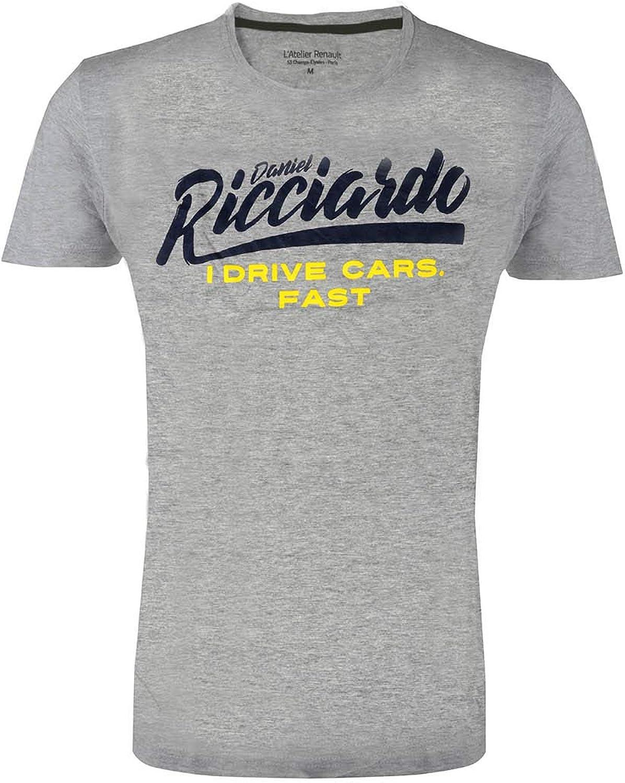 Renault F1 Team – Camiseta para hombre – Daniel Ricciardo – I Drive Cars Fast: Amazon.es: Ropa y accesorios