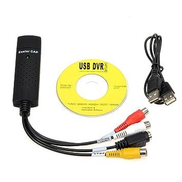 EasyCap DC60 USB Video Capture Adapter 64 BIT
