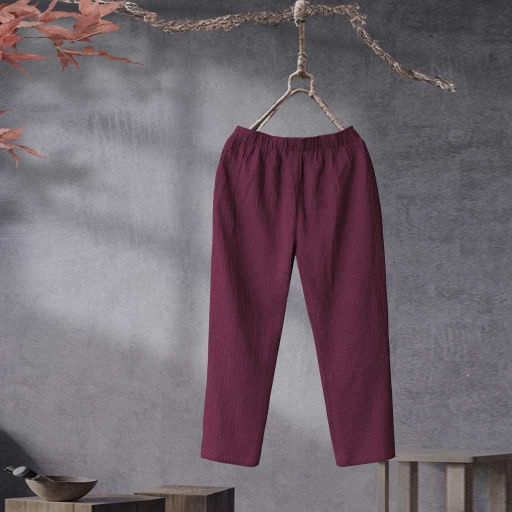 Pantaloni Donna Casual Salopette Slim Fit Moda Trousers Pantalone Tuta Eleganti Ragazza Jogger Lavoro Tuta Pantaloni Pants Lunghi Abbigliamento