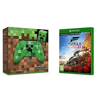 38a791b5e6a8a Microsoft - Mando Inalámbrico  Edición Limitada Minecraft Creeper (Xbox  One) + Forza Horizon
