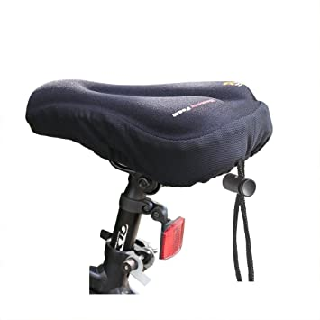 ondeni - Sillín de bicicleta sillín gelüberzug para F de Bike ...