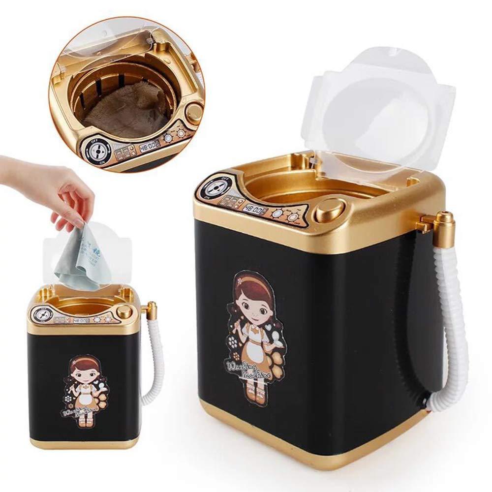 HONGFUTONG Mini Toy Makeup Brush Cleaner Waschmaschine Automatische Reinigung Waschmaschine f/ür Kosmetik Make-up Pinsel