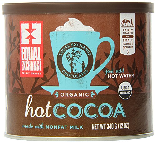 Equal Exchange Hot Cocoa Mix, 12-Ounce (Pack of 3) 1 Contains 3 cans, 12 oz per can (12 oz) Made with high quality dutch process cocoa Fairly Traded