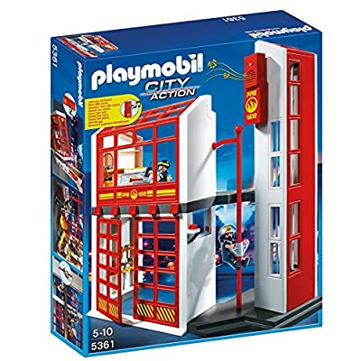 Playmobil Fire Station with Alarm 5361 : Baby