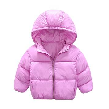 8e9c16a72 Baby Coat Infant Girls Boys Kids Jacket Autumn Winter Hooded Coat ...