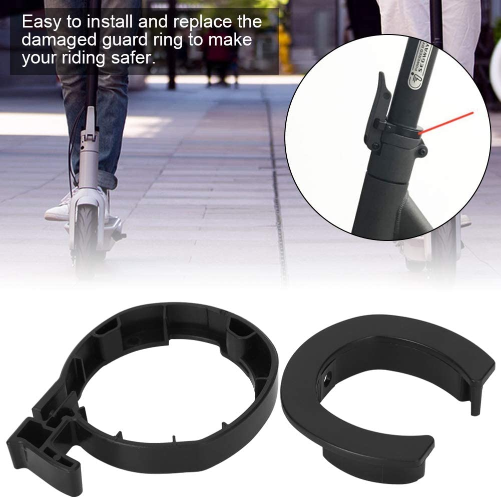 Keenso Round Limit Folding Locking Ring Electric Scooter Front Round Locking Ring for MAX G30