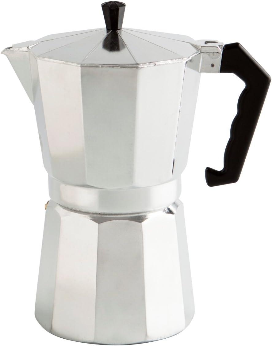 Quid Cafetera, Acero Inoxidable, Aluminio, 12 Tazas: Amazon.es: Hogar