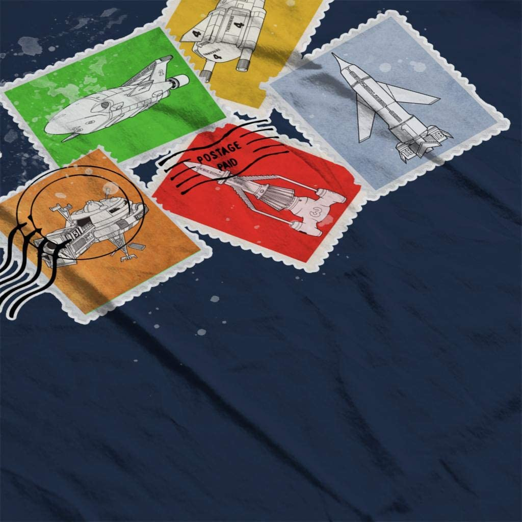 Thunderbirds Vehicle Stamps Womens Hooded Sweatshirt