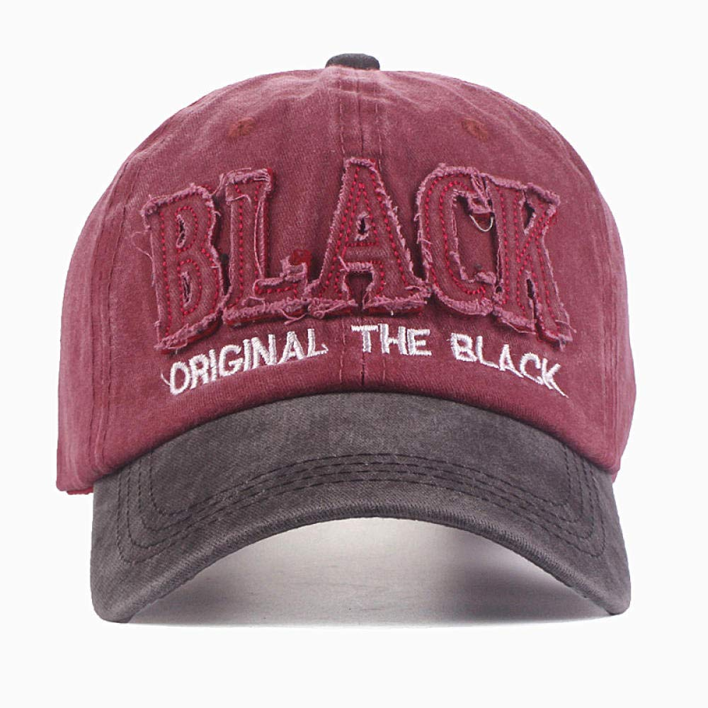 Mens Letter Baseball Cap Hat for Men Black Hat Dad Hat Embroidery Casual Cap Casquette Hip Hop Cap