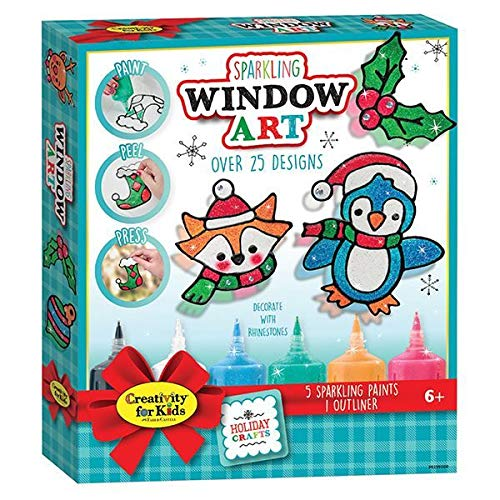 Sparkling Window Art - Craft Kits by Creativity For Kids (6199)