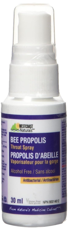 WESTCOAST NATURALS Bee Propolis Liquid Throat Spray, 30 Milliliter