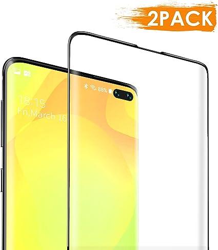 DEKOLY Protector de Pantalla para Samsung Galaxy S10 Plus Vidrio Templado [2-Pack] [Alta Definición] [Anti-rasguños] Samsung Galaxy S10 Plus Película Protectora con Herramientas: Amazon.es: Electrónica