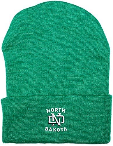 (University of North Dakota Fighting Hawks Newborn Baby Knit Cap)