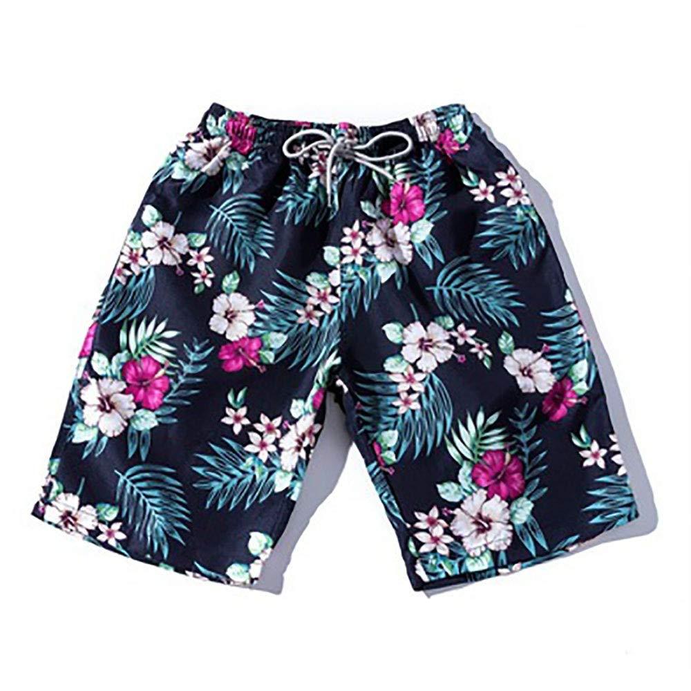 Kanqingqing Pantalones Cortos de Playa para Hombre Trajes de baño ...