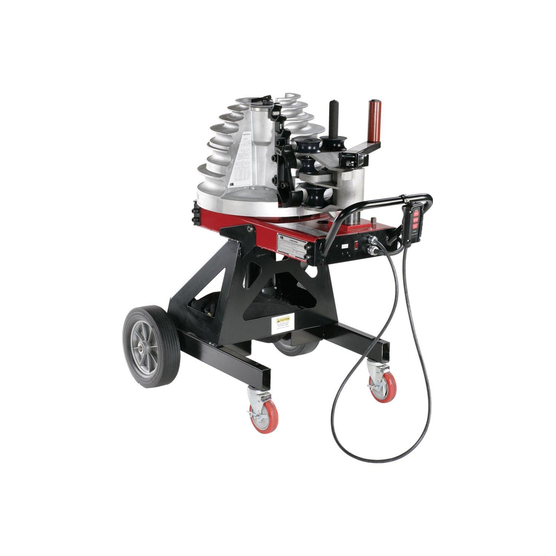 Gardner Bender B2000 Cyclone Electric Powered Bender, ½ - 2 in. EMT, Rigid, Rigid Aluminum & IMC Conduit, & ½ - 1½ in. PVC-Coated Conduit, No Shoe Group, Red & Black by Gardner Bender (Image #1)