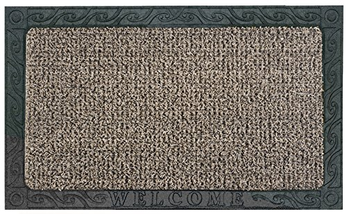 GrassWorx Clean Machine Filigree Welcome Doormat, 18