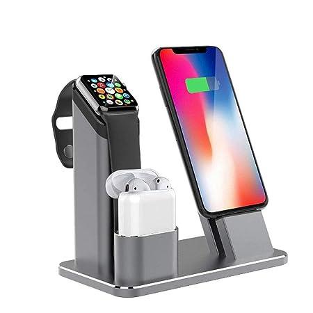 LOVEQIZI Soporte para Reloj Apple, Soporte Cargador ...