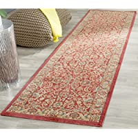 Safavieh Mahal Collection MAH699A Traditional Oriental Red and Natural Runner (2 2 x 12)