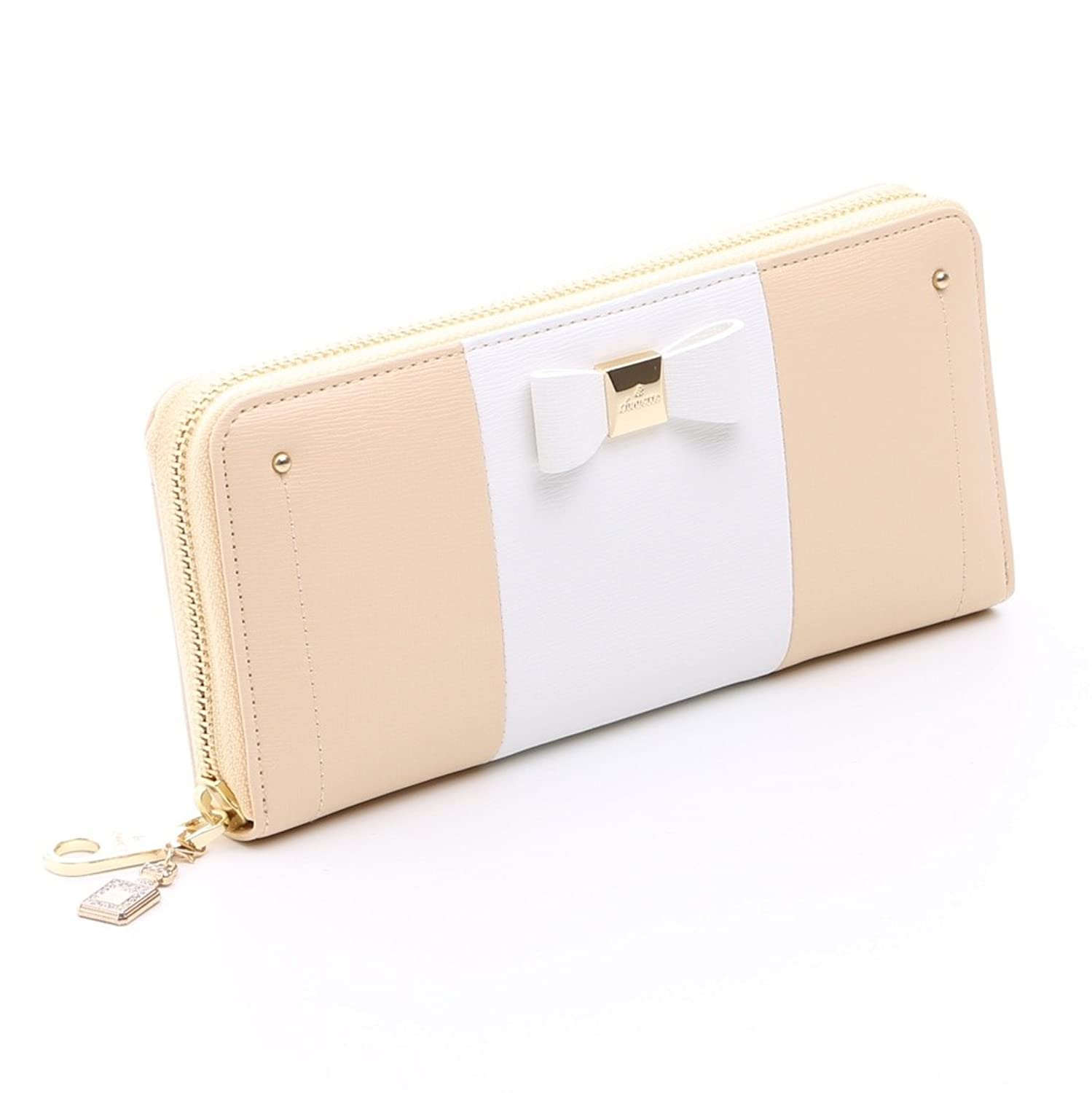 &Chouette Fashion Lady Women Clutch Ribbon Long Wallet Card Holder Purse Samantha Thavasa japanese style