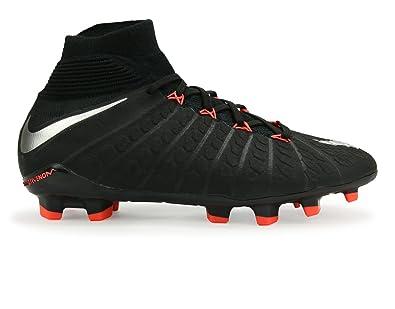 454705df3 Nike Kids Hypervenom Phantom Iii Dynamic Fit Fg Black Metalic  Silver Anthracite Soccer Shoes