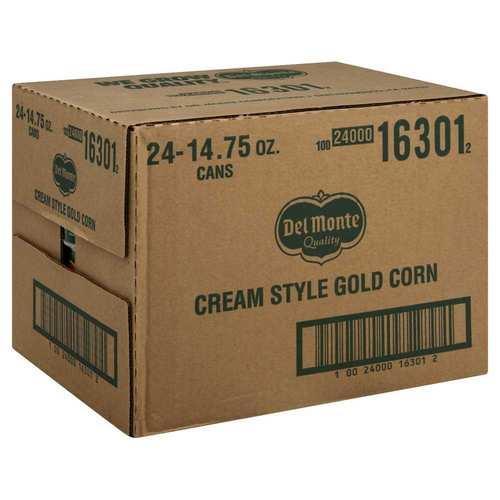 Del Monte Sweet Corn Cream Style 14 oz (Pack of 24)