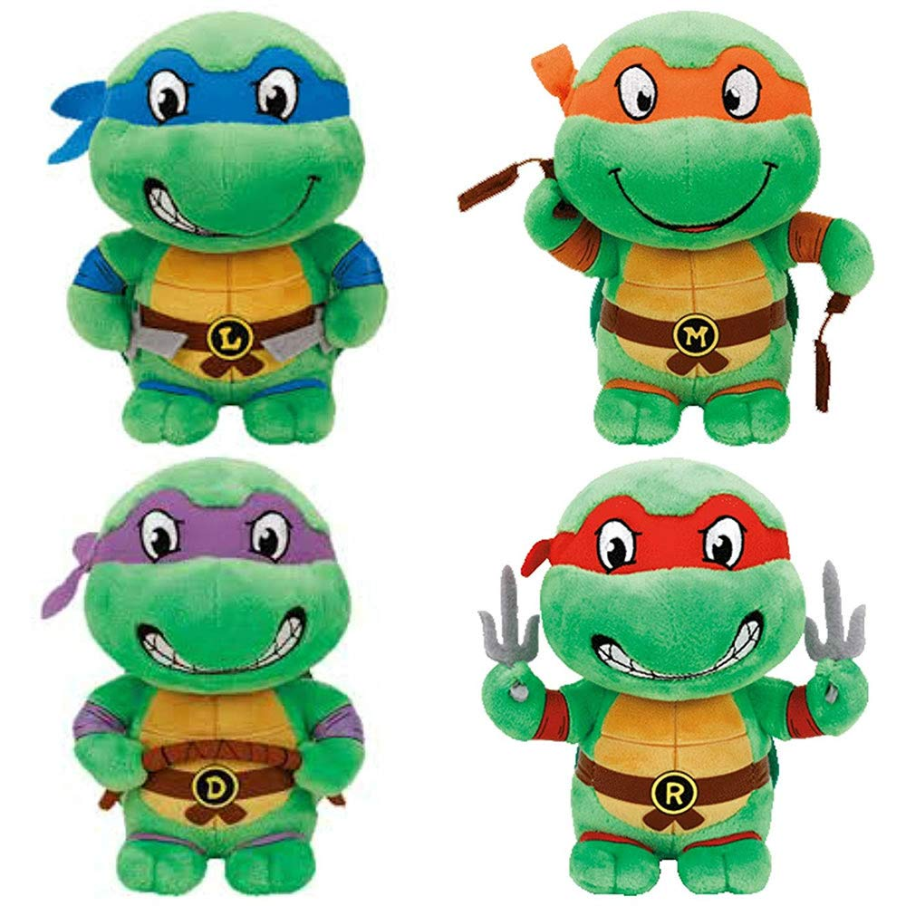 TY Teenage Mutant Ninja Turtles (Set of 4)