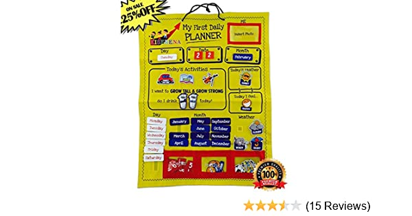 Amazon.com: Kiserena My First Daily Planner (18