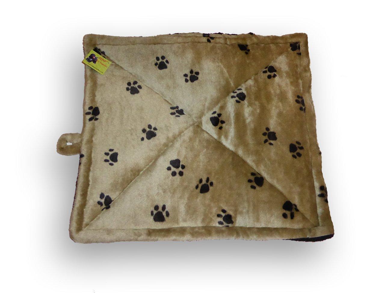HDP Pet Thermal Cat Bed Mat Color Pawprint