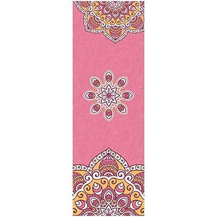 Amazon.com: Printed Yoga Towel Anti Slip Pilates Yoga Mat ...