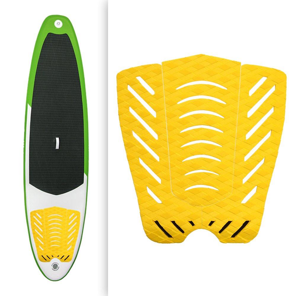 Lixada 3pcs Tablas de Cola de Tracción de la Tabla Hawaiana para Practicar Surf Accesorios de los Deportes Acuáticos de Skimboarding: Amazon.es: Deportes y ...
