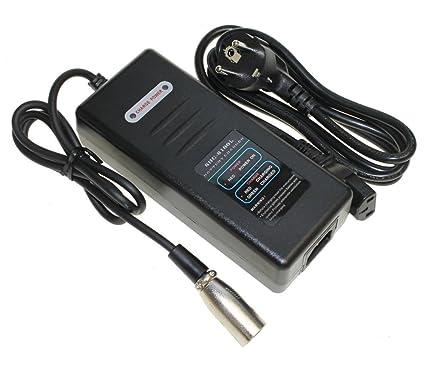 Cargador para batería de ion de litio 36 V 10,4 Ah batería de repuesto marco batería para E-Bike Pedelec bicicleta eléctrica por ejemplo Prophete, ...