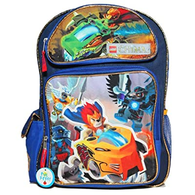 6ab05d48bc durable modeling Accessory Innovations Lego Legends of Chima Backpack Bag