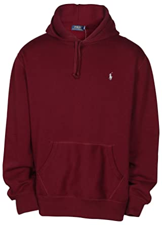 1b0d07fbf2ce Polo Ralph Lauren Men s Pony Pullover Hoodie-Red Burgundy-Small at Amazon  Men s Clothing store