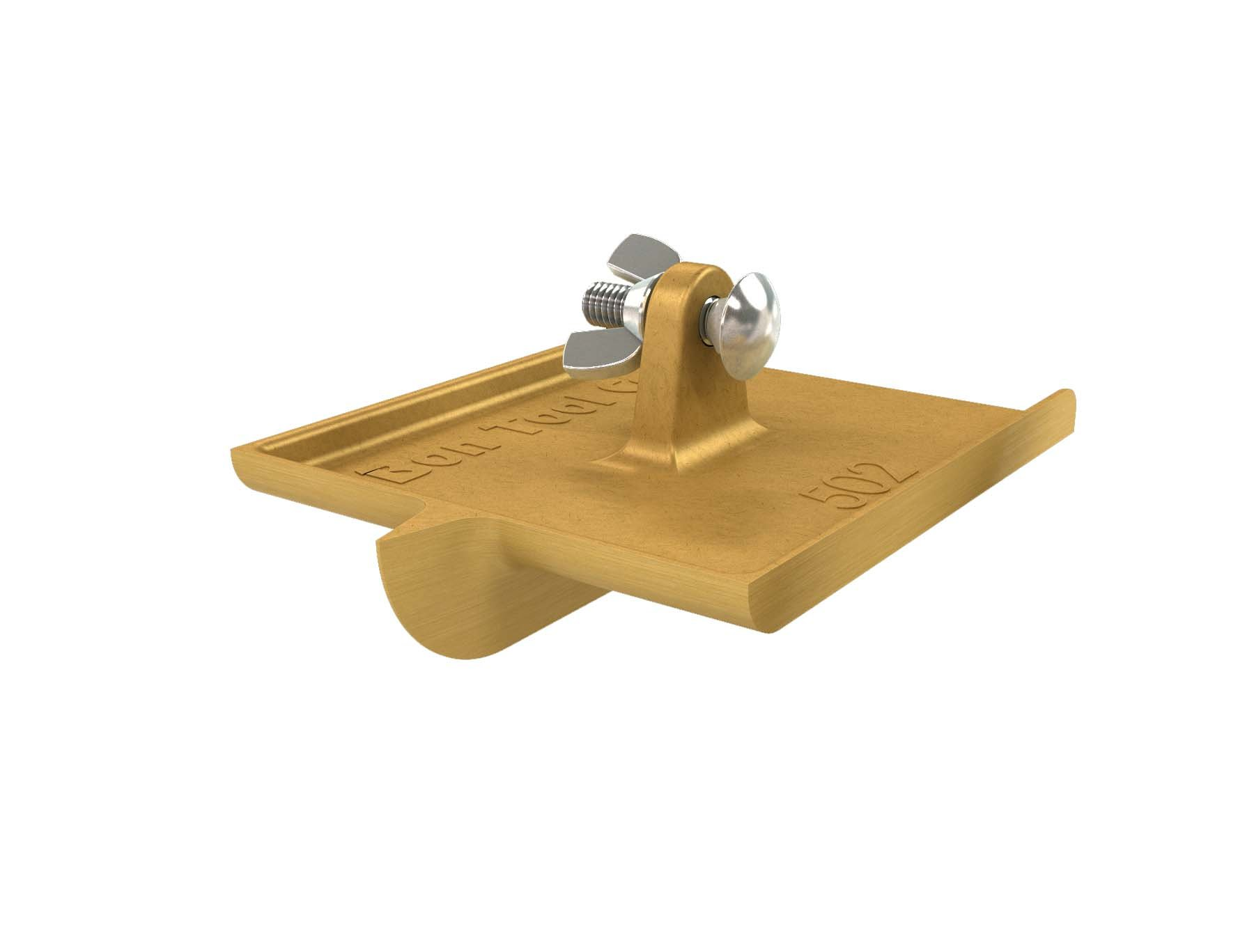 Bon 12-502 6-Inch by 4-1/2-Inch Bronze Walking Concrete Groover, 3/4-Inch Bit Depth, 3/8-Inch Bit Width