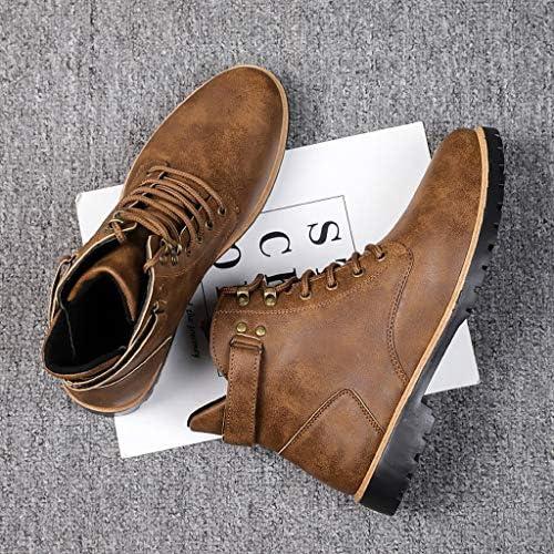 Zapatos de hombre JiaMeng ZI Cabeza Redonda Estilo británico