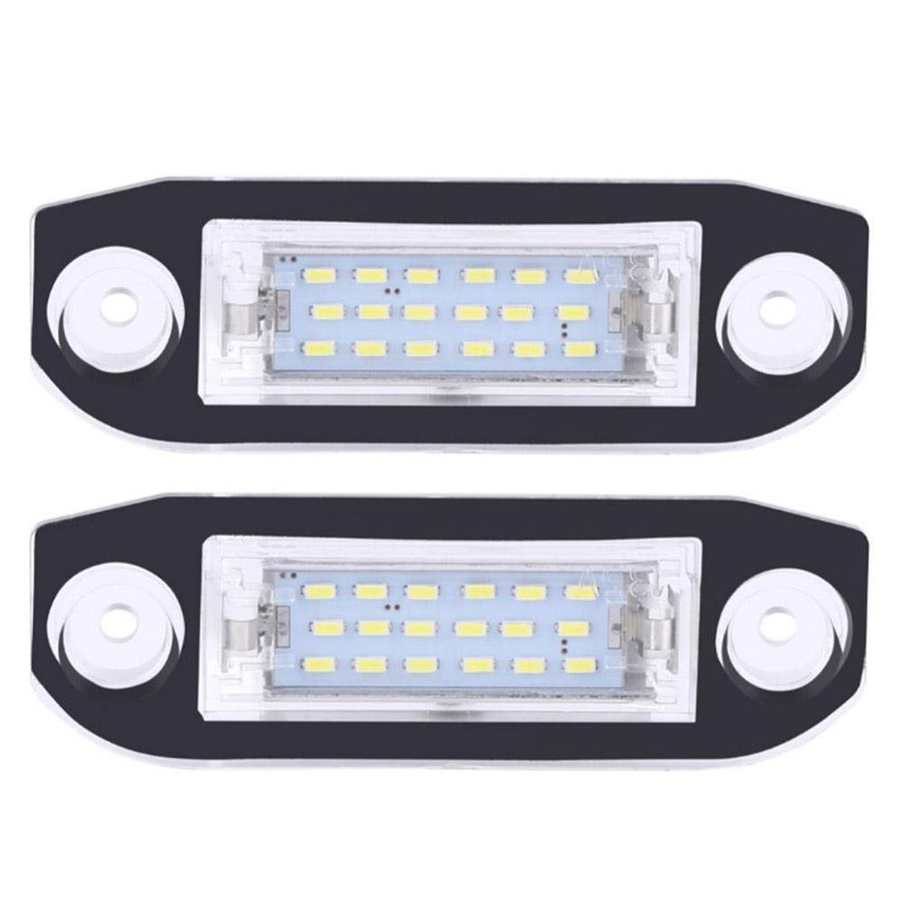 Tuankay 2pcs 18LED License Number Plate Light Lamps for Volvo S80/XC70/S40/XC60/S60