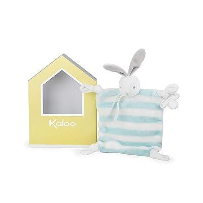 Kaloo Bebe Pastel Doudou Rabbit - Aqua & Cream Plush: Toys & Games