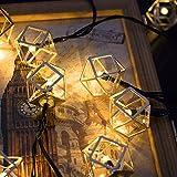Best Solar String Lights - Easternstar Solar String Lights Outdoor,20ft 30 LED Gold Review
